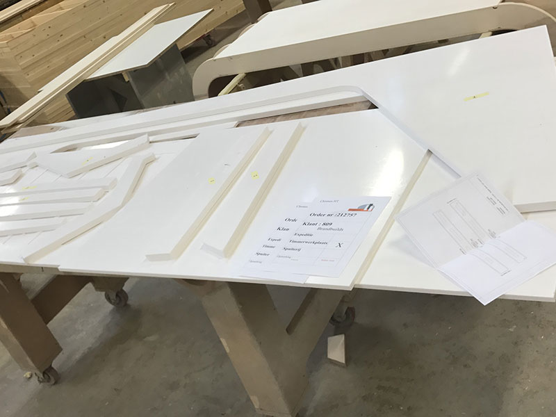 Balie productieproces
